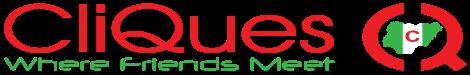 Cliques Social Network Logo